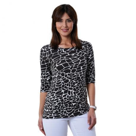 Shirt im Animal-Print-1