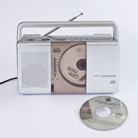 Tragbares CD-Radio