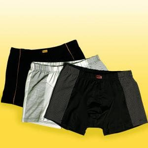 Mikrofaser Retro-Shorts 3er Set