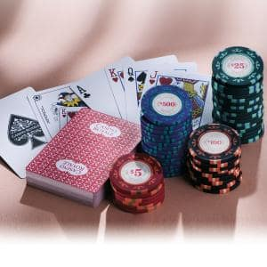 "Poker-Set ""Casino Royale"""