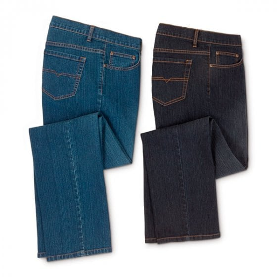 Herren-Stretch-Jeans (2er Set)