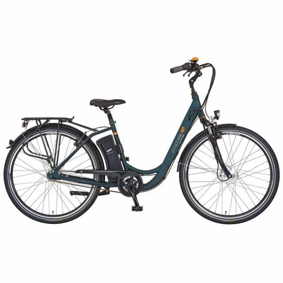 "Damen E-Bike ""City-Tourer"", grün"