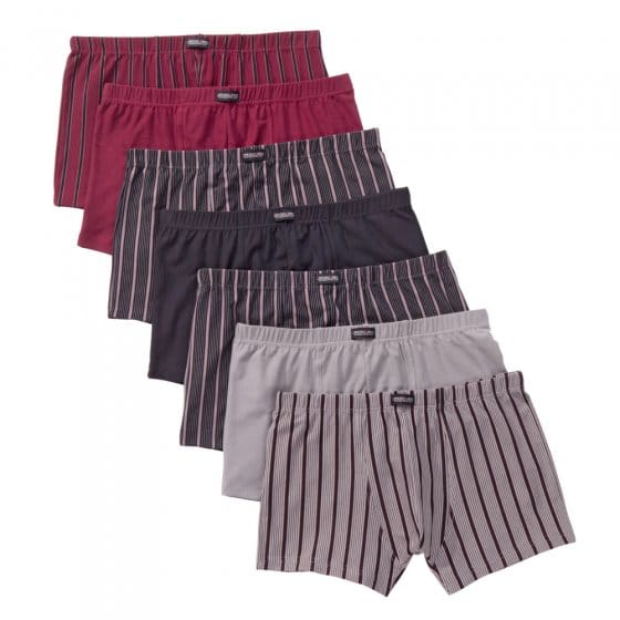 Boxers rétro en coton stretch Lot de 7