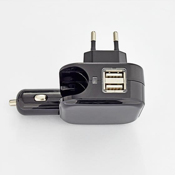 USB-Ladestecker 2-in-1