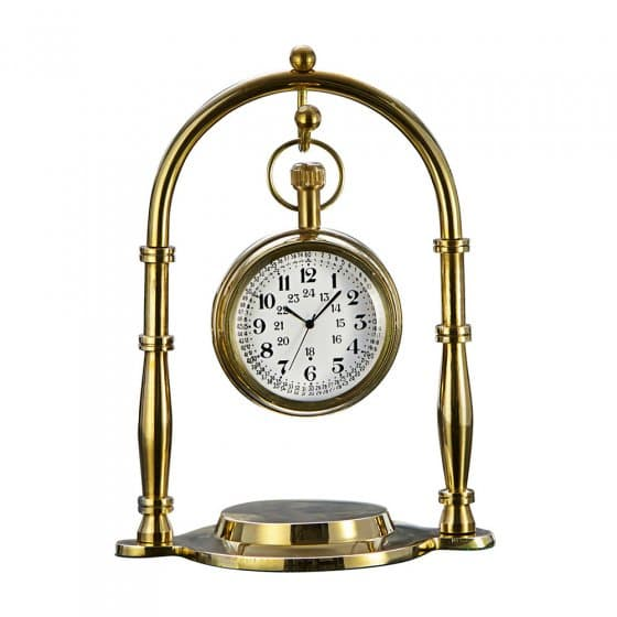 Zakhorloge van messing