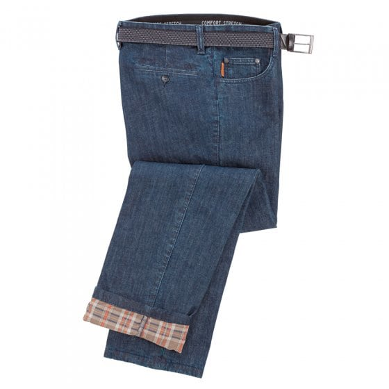 Jeans met thermovoering