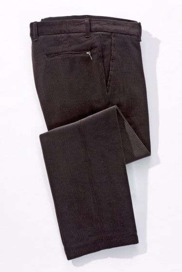 Pantalon en velours stretch