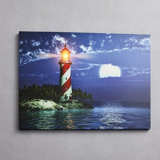 "Tableau LED  ""Phare"""