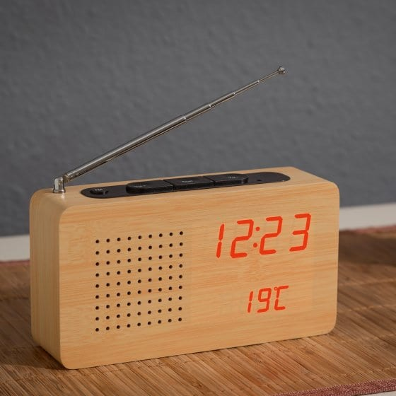 Radio in Holz-Optik