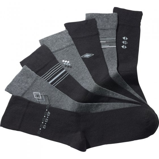 Chaussettes en coton stretch Lot de 7