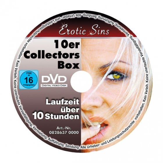 "Erotik-DVD-Set ""Erotic Sins"""